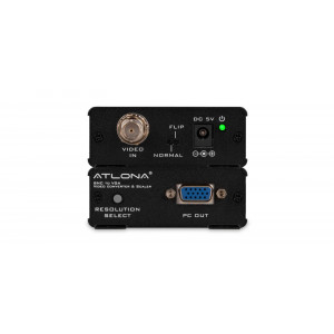 ATLONA BNC to VGA or Component Video Converter & Scaler